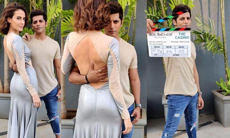 The Casino Zee5 S Web Series And Karanvir Bohra S Web Debut Kicks Off Shoot