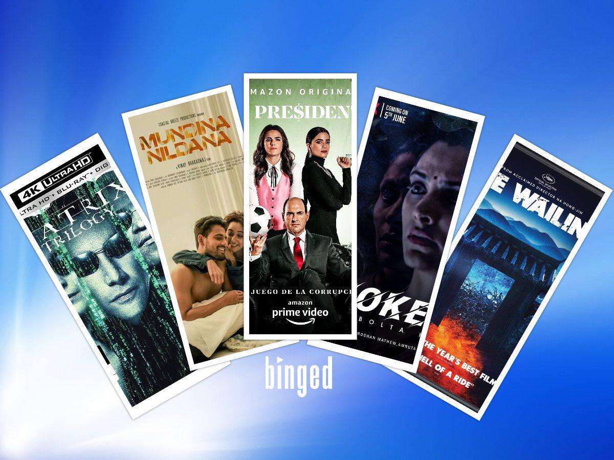 New On Netflix, Prime, Disney Plus Hotstar, And Zee5 This Weekend_ Mundina Nildana, Choked, Matrix Trilogy