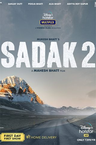 Sadak2 Hindi Movie Online Watch