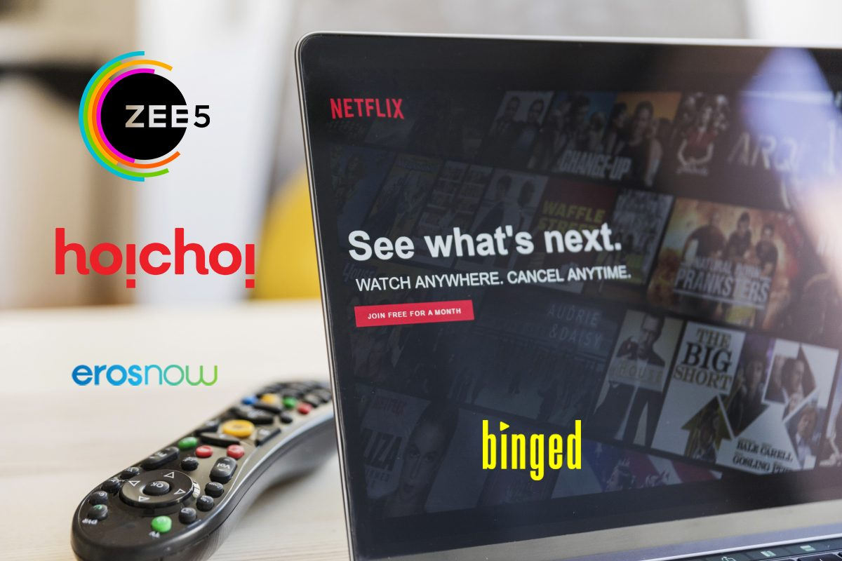 ZEE5, Hoichoi TV, Eros Now Lock Down 2020 Shows Web Series