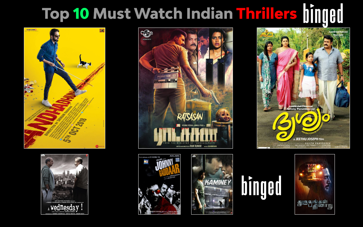 Top 10 Must Watch Indian Thrillers On OTT Platforms Across The Languages