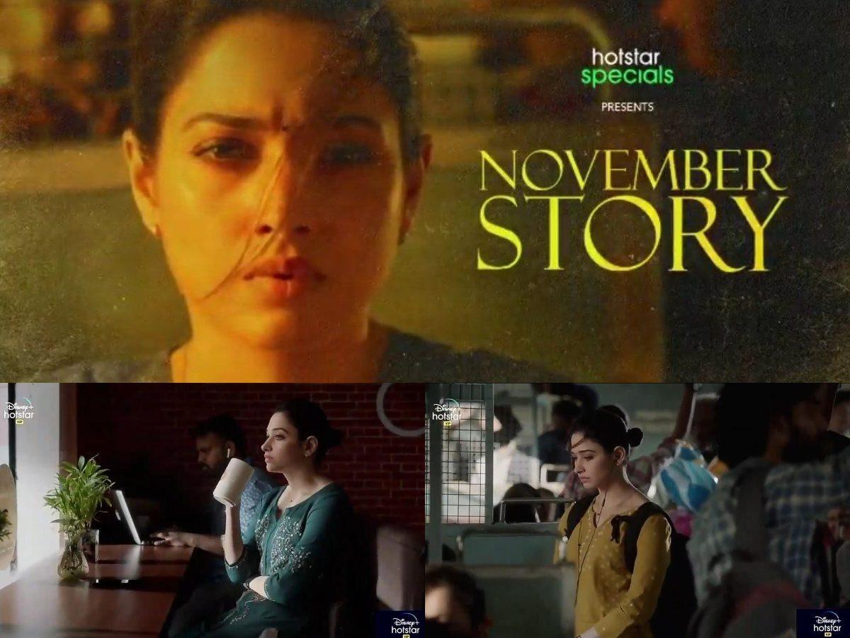 Disney Plus Hotstar Tamannaah Bhatia November Story Web Series