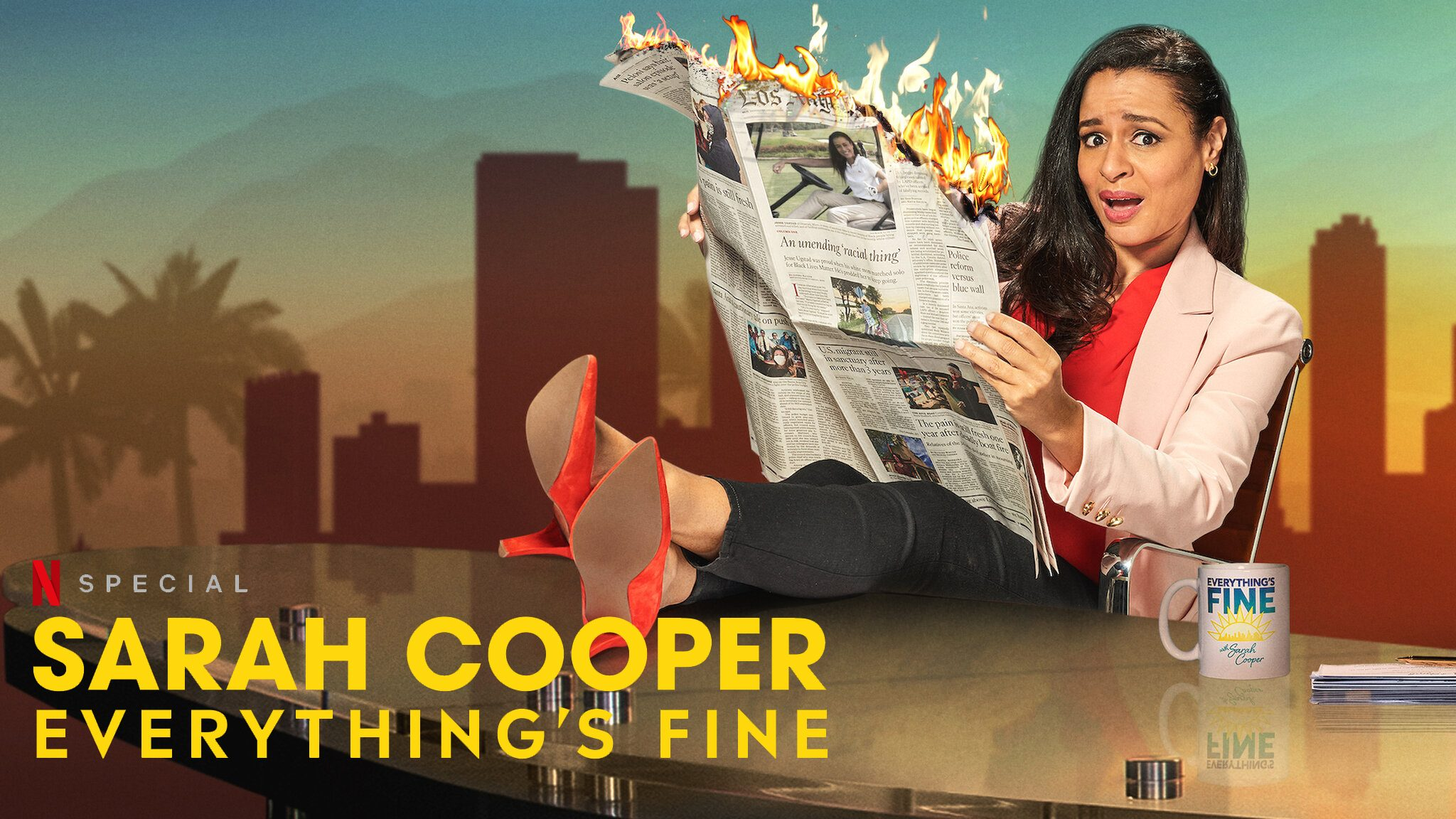 Follow Up: Sarah Cooper's 'Everything's Fine' Looking To Make A Bang On Netflix