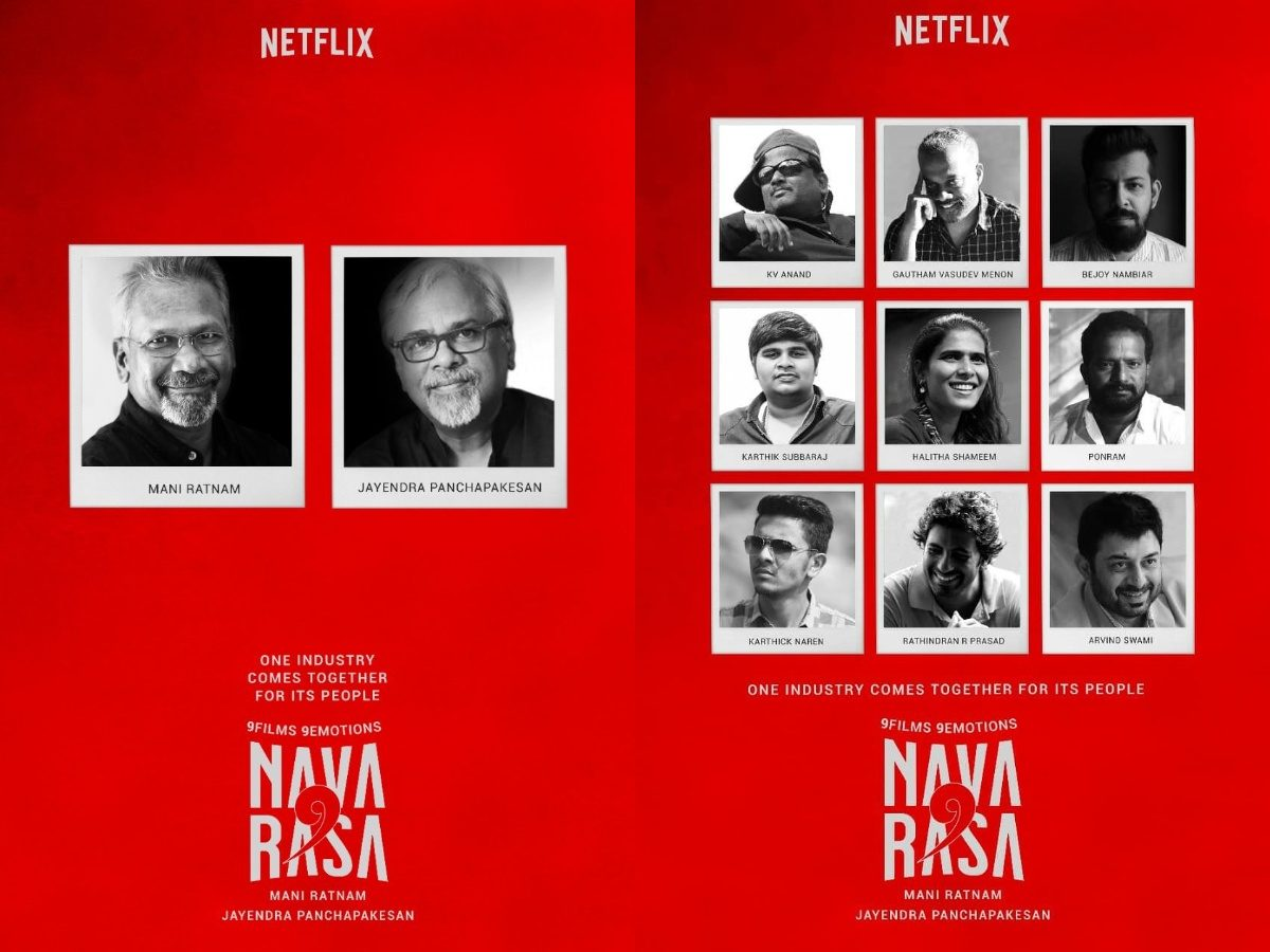 Netflix's 'Navarasa': A Heartfelt Initiative By The Iconic Mani Ratnam