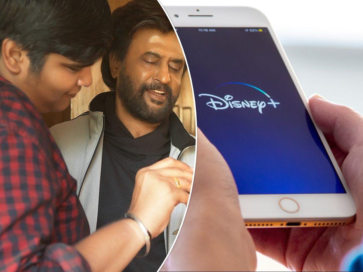 Rajinikanth - Karthik Subbaraju -Disney+ Hotstar
