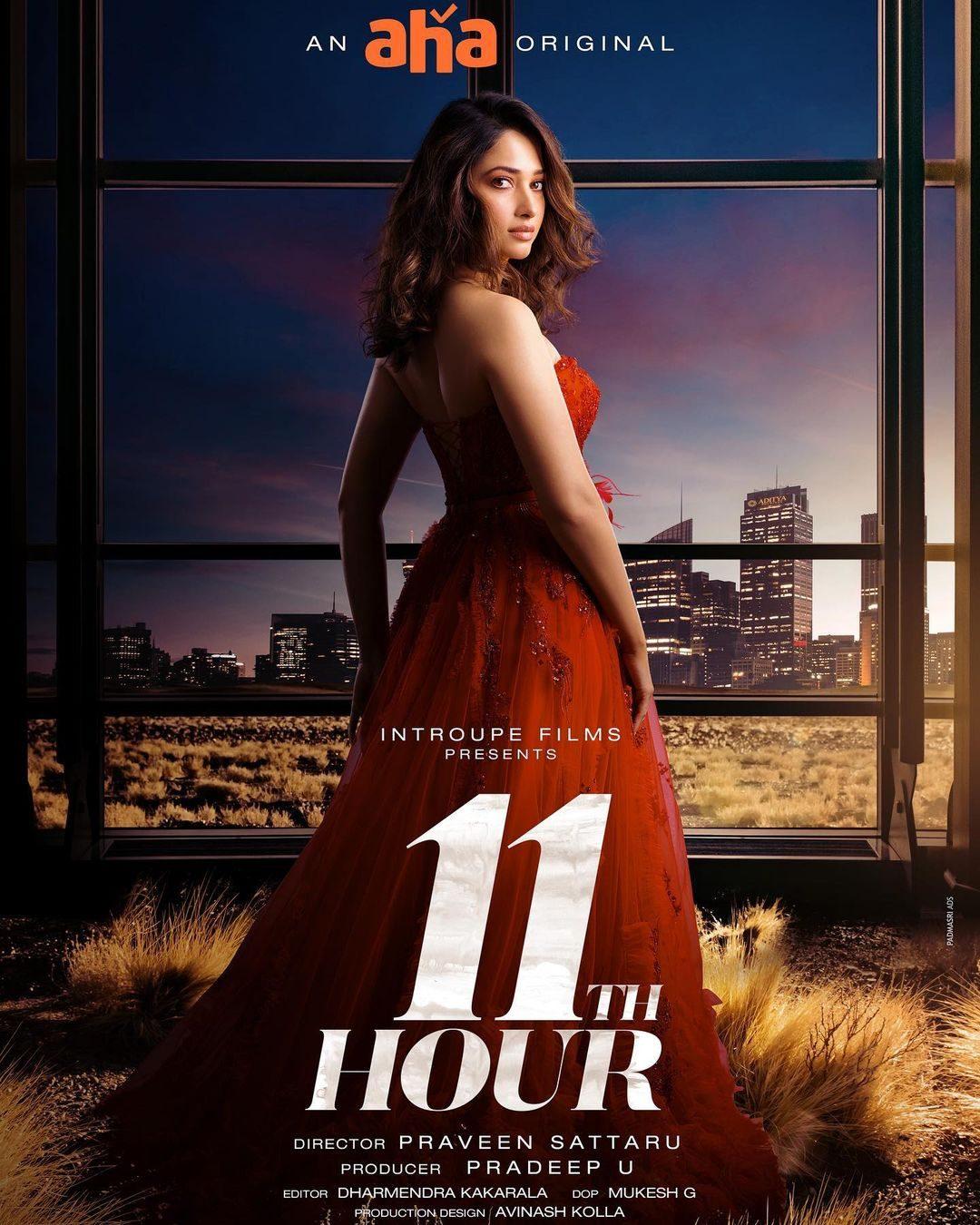 11th-Hour-on-AHA-Video---Tamannah-Teams-Up-with-Telugu-Director-Praveen-Sattaru.-