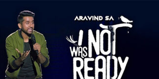 Aravind-SA's-'I-Was-Not-Ready-Da'-!-A-New-Comedy-Special-By-Amazon-Prime-Video!