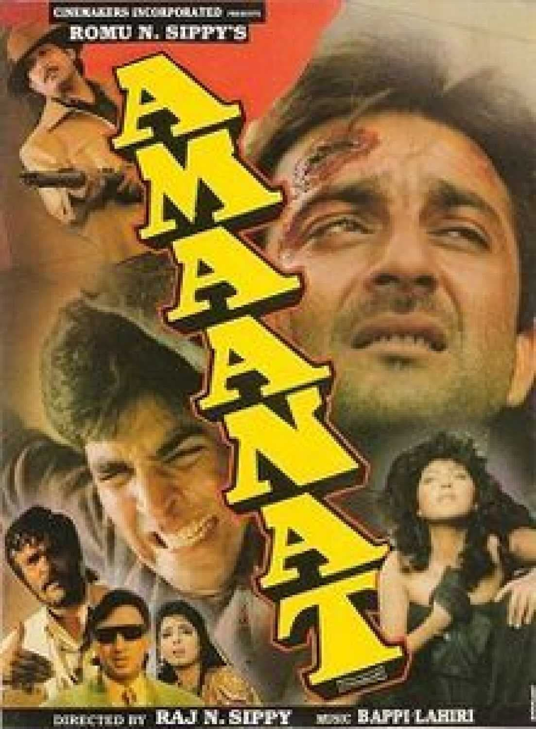 Amaanat Movie Streaming Online Watch on Jio Cinema, MX Player, Shemaroo Me, Sony LIV