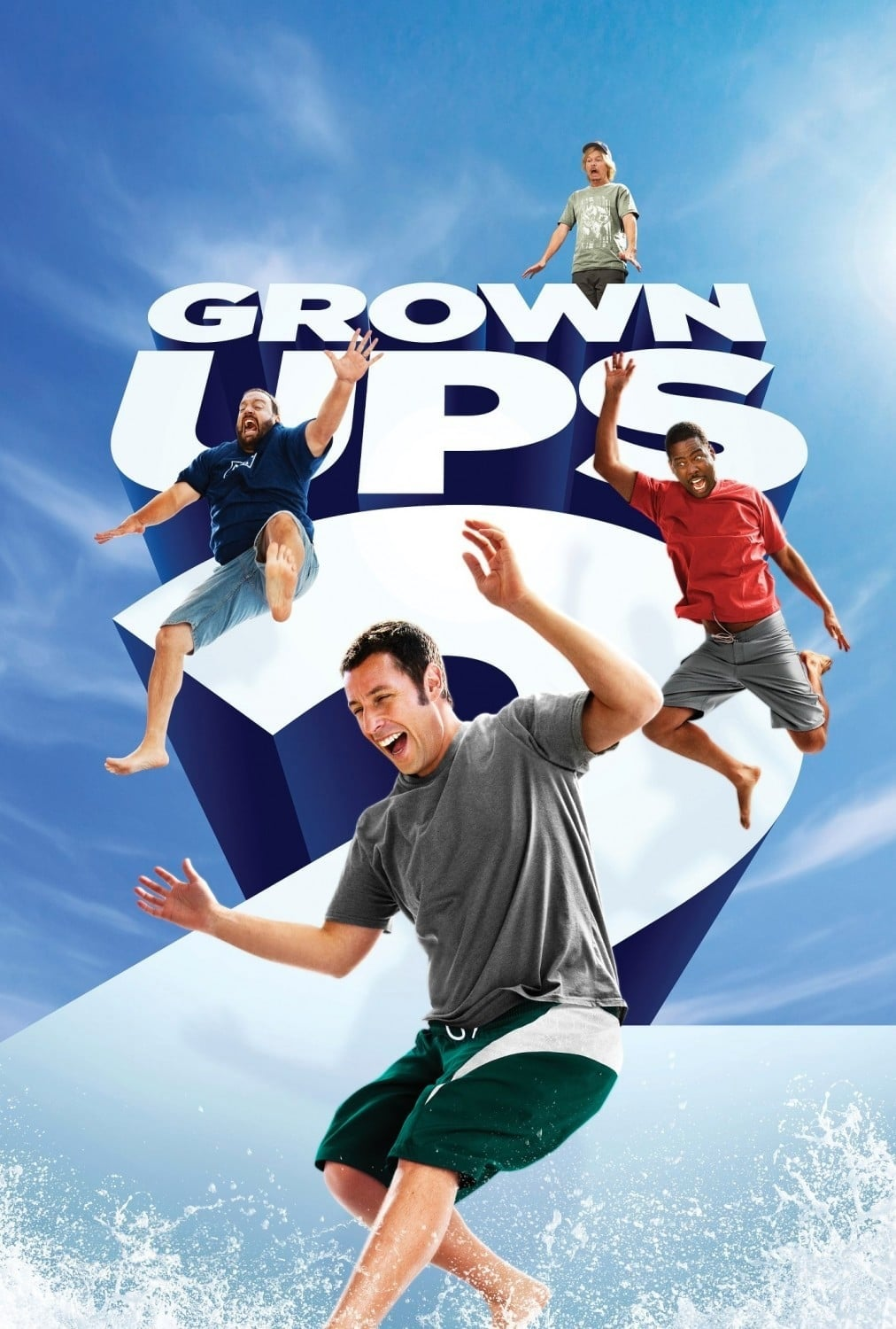 Grown Ups 2 Movie Streaming Online Watch on Amazon, Google Play, Sony LIV, Youtube, iTunes