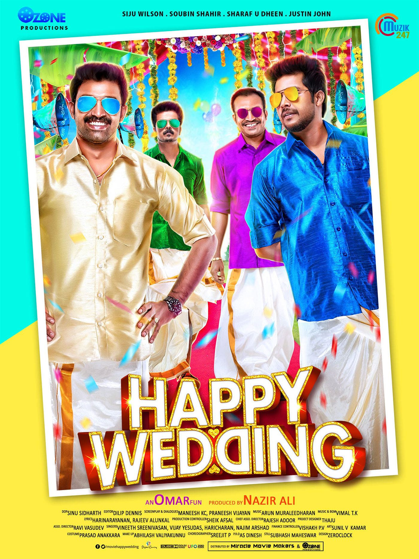 Happy Wedding Movie Streaming Online Watch on MX Player, Sun NXT
