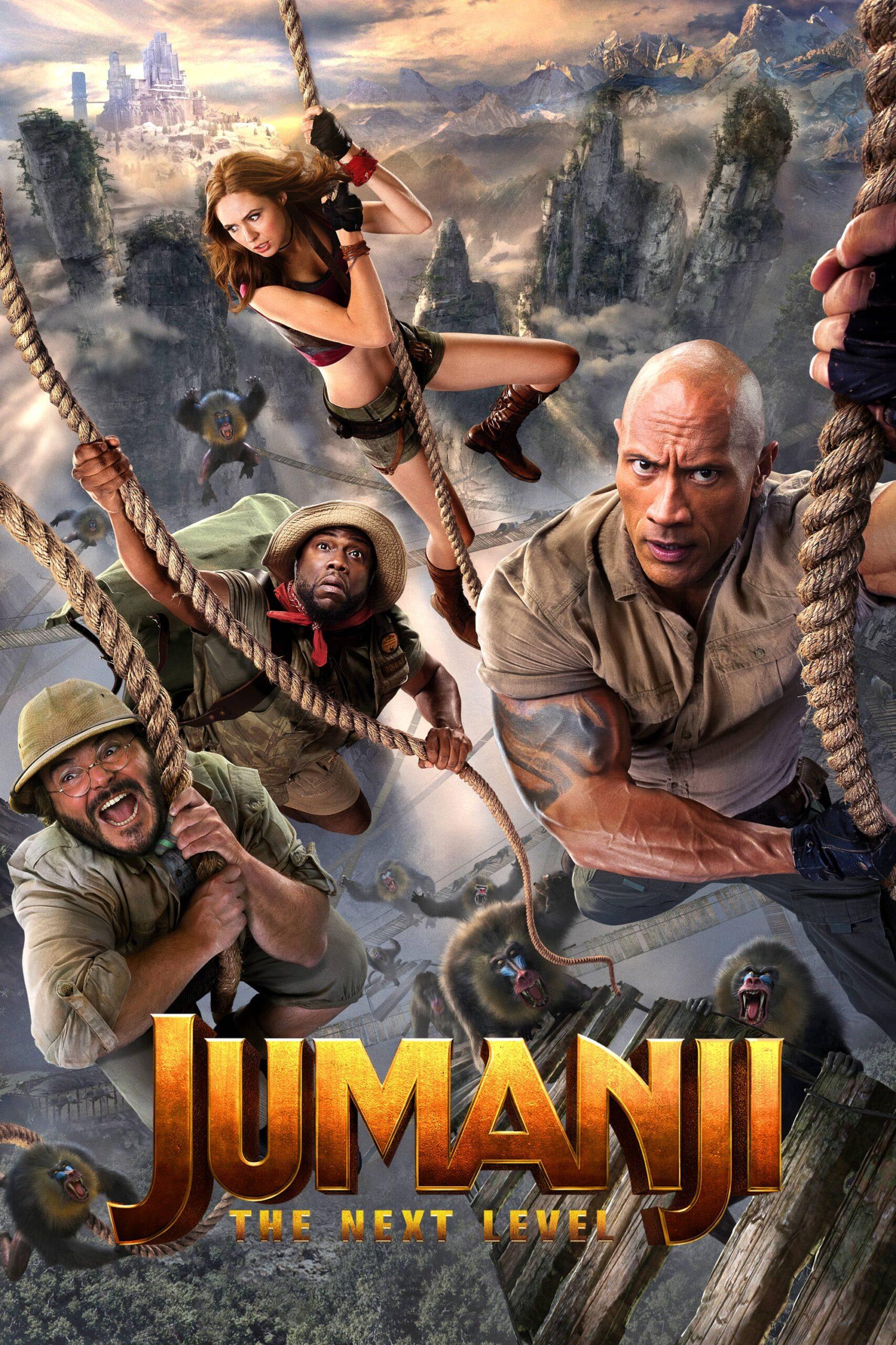 Jumanji: The Next Level Movie Streaming Online Watch on Amazon, Google Play, Youtube, iTunes