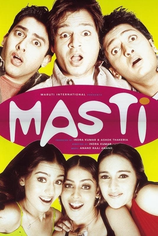 Masti Movie Streaming Online Watch on Amazon, Google Play, Jio Cinema, MX Player, Shemaroo Me, Viu, Youtube, iTunes