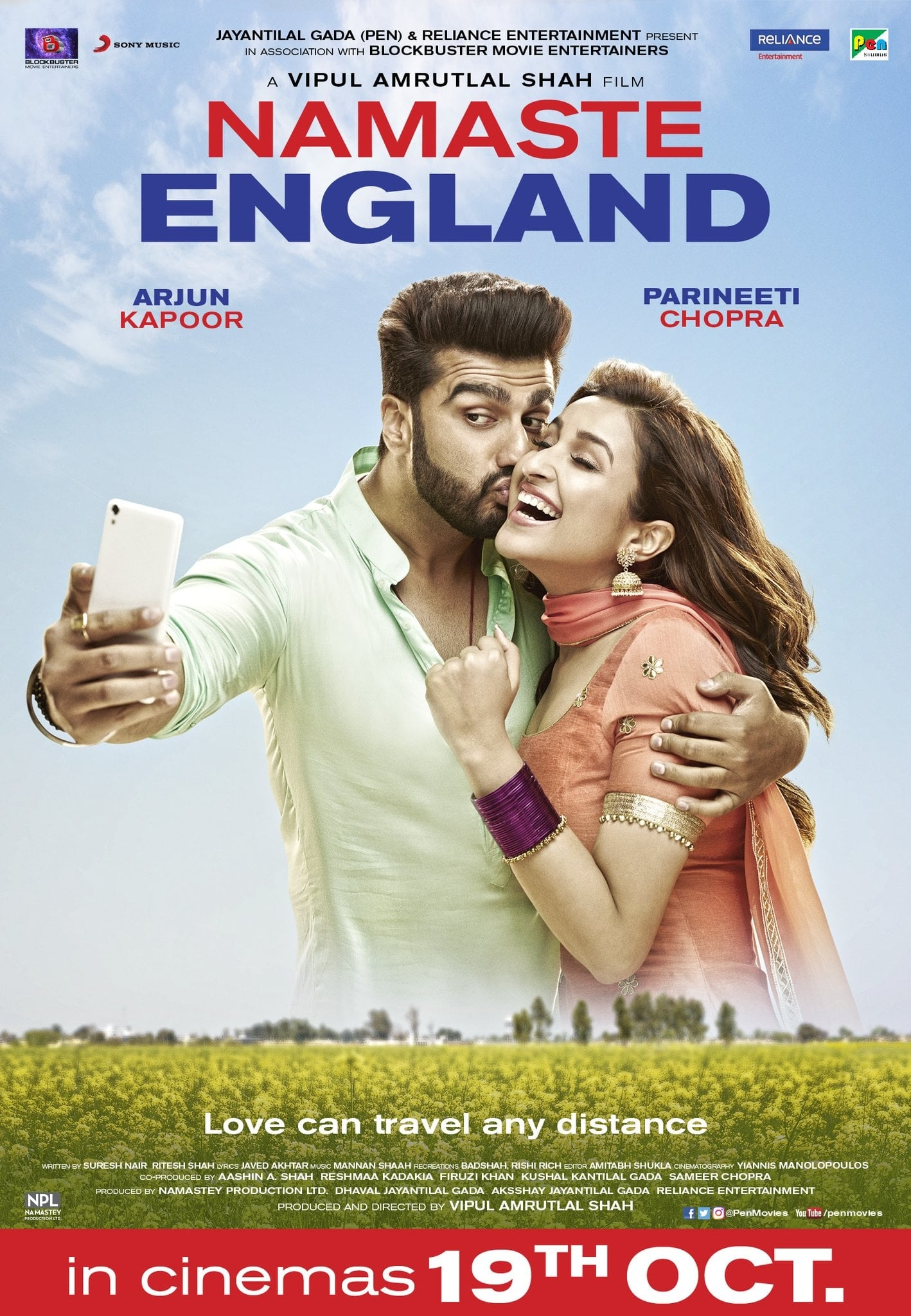 Namaste England Movie Streaming Online Watch on Zee5