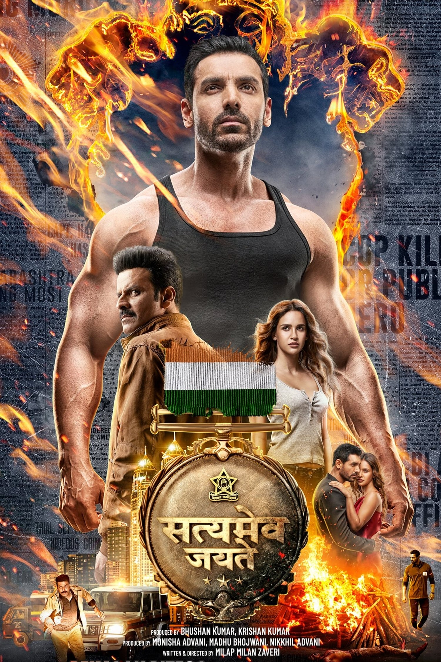 Satyameva Jayate Movie Streaming Online Watch on Amazon, Zee5