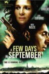 A Few Days in September Movie Streaming Online