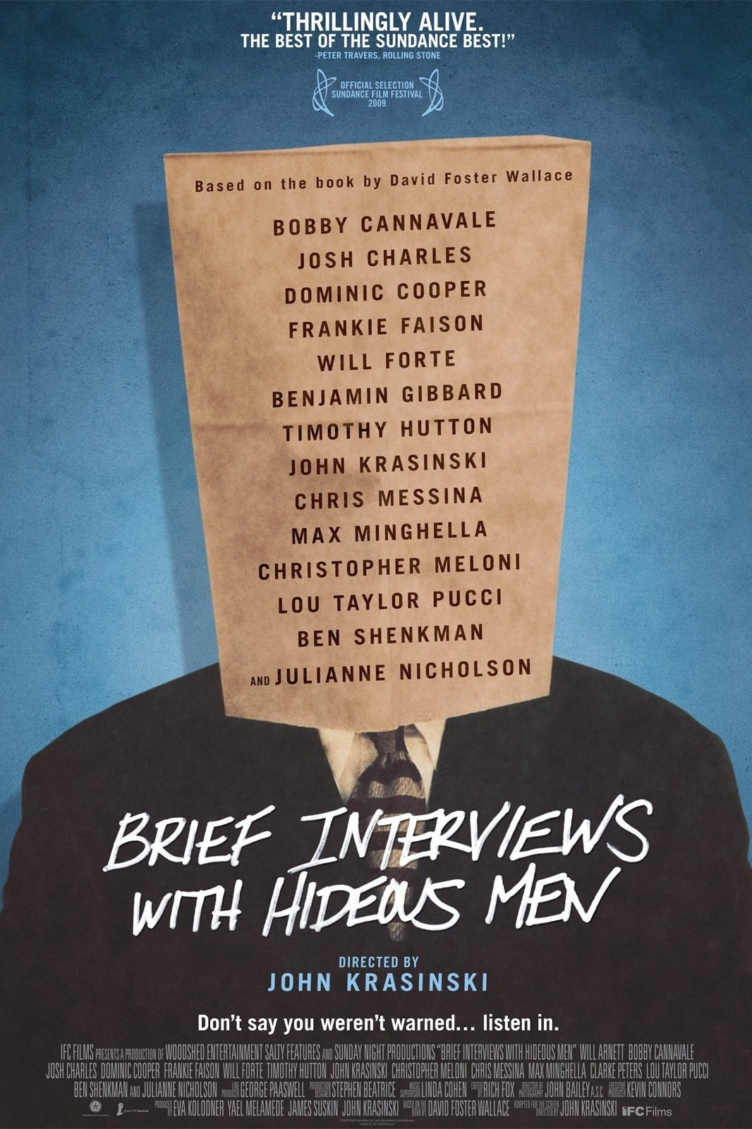 Brief Interviews with Hideous Men Movie Streaming Online