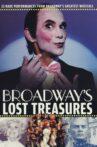 Broadway's Lost Treasures Movie Streaming Online