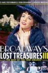 Broadway's Lost Treasures III: The Best of The Tony Awards Movie Streaming Online
