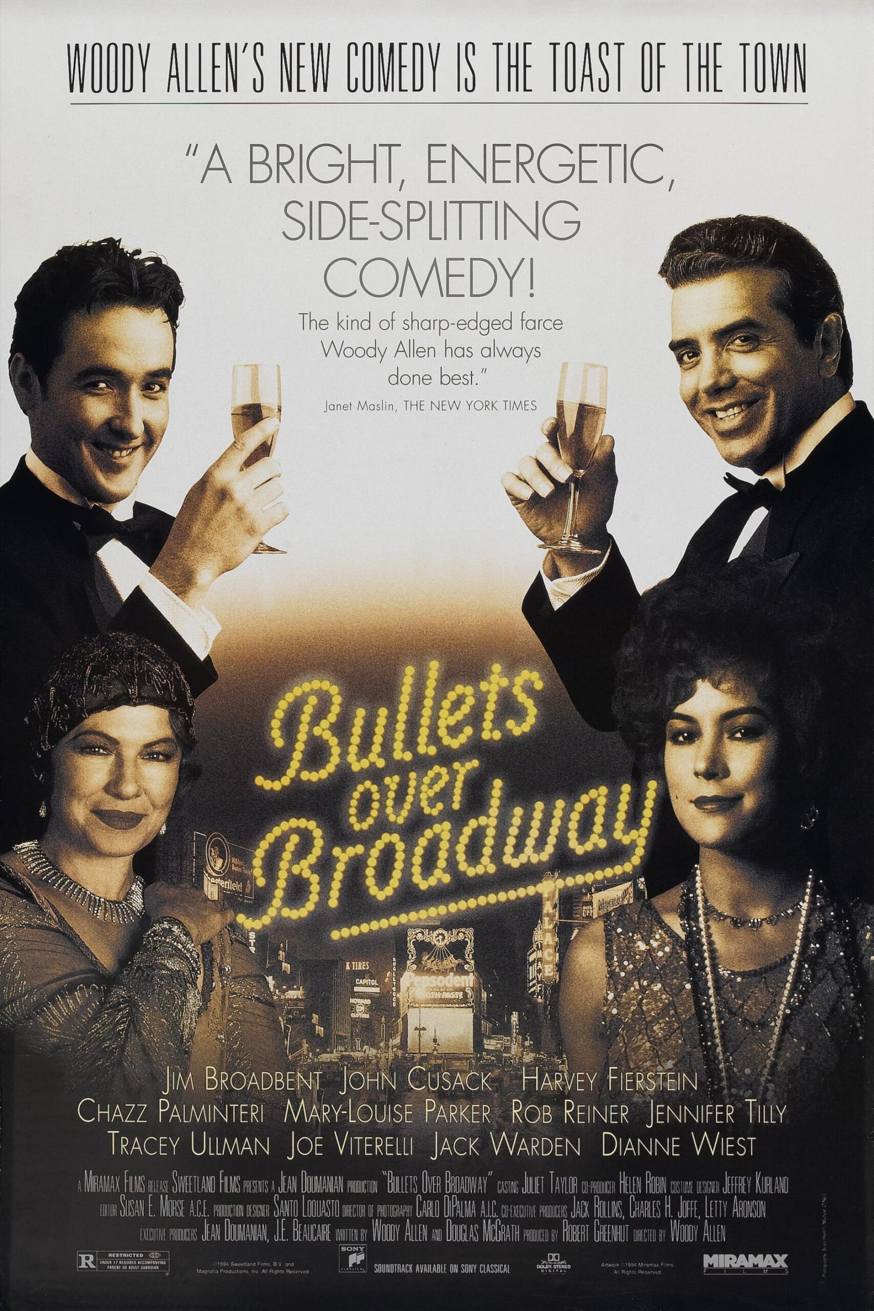 Bullets Over Broadway Movie Streaming Online