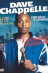 Dave Chappelle: For What It's Worth Movie Streaming Online