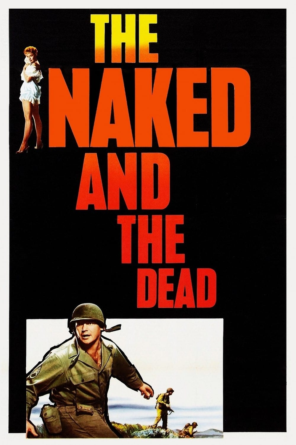 The Naked and the Dead | Trailers From Hell