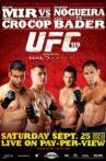 UFC 119: Mir vs. Cro Cop Movie Streaming Online