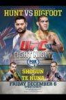 UFC Fight Night 33: Hunt vs. Bigfoot Movie Streaming Online