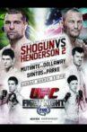 UFC Fight Night 38: Shogun vs. Henderson 2 Movie Streaming Online