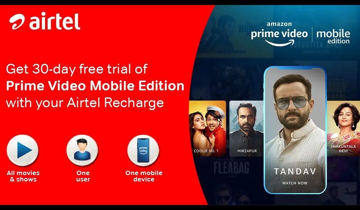 Amazon Prime Video - Airtel