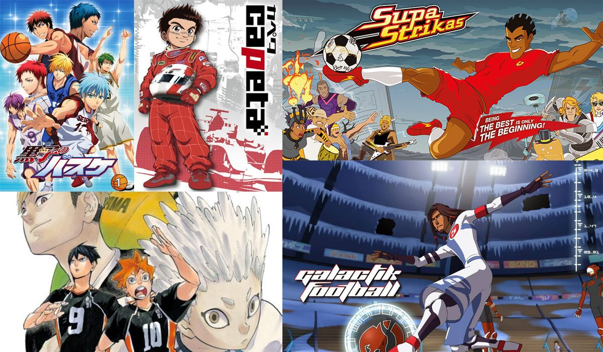 Must Watch sports based animated shows