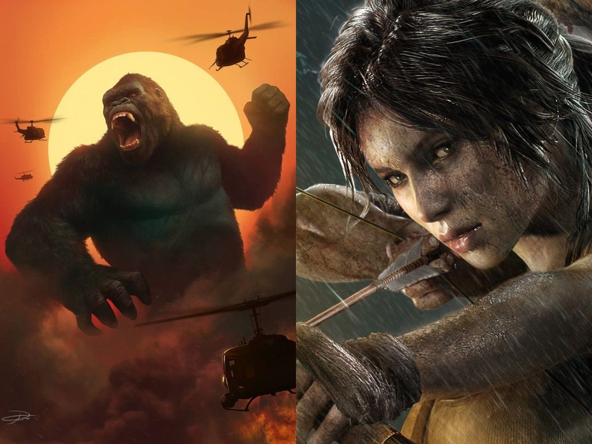 Skull Island and Tomb Raider will get Two New Anime