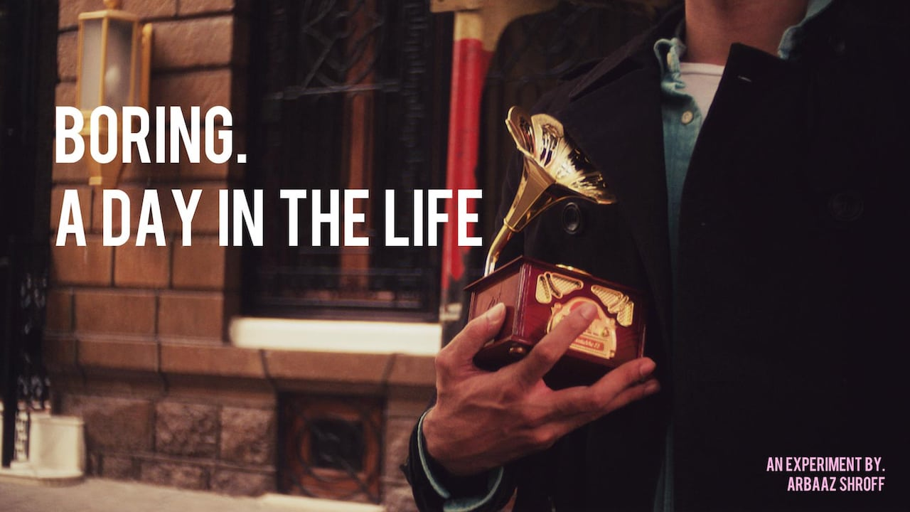 BORING. A DAY IN THE LIFE Movie Streaming Online