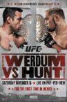 UFC 180: Werdum vs. Hunt Movie Streaming Online