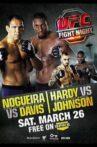 UFC Fight Night 24: Nogueira vs. Davis Movie Streaming Online