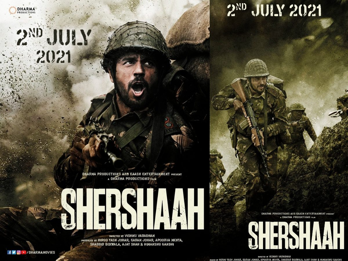 """Dharma Productions Reveals the Date for Its War Biopic """"Shershaah"""""""