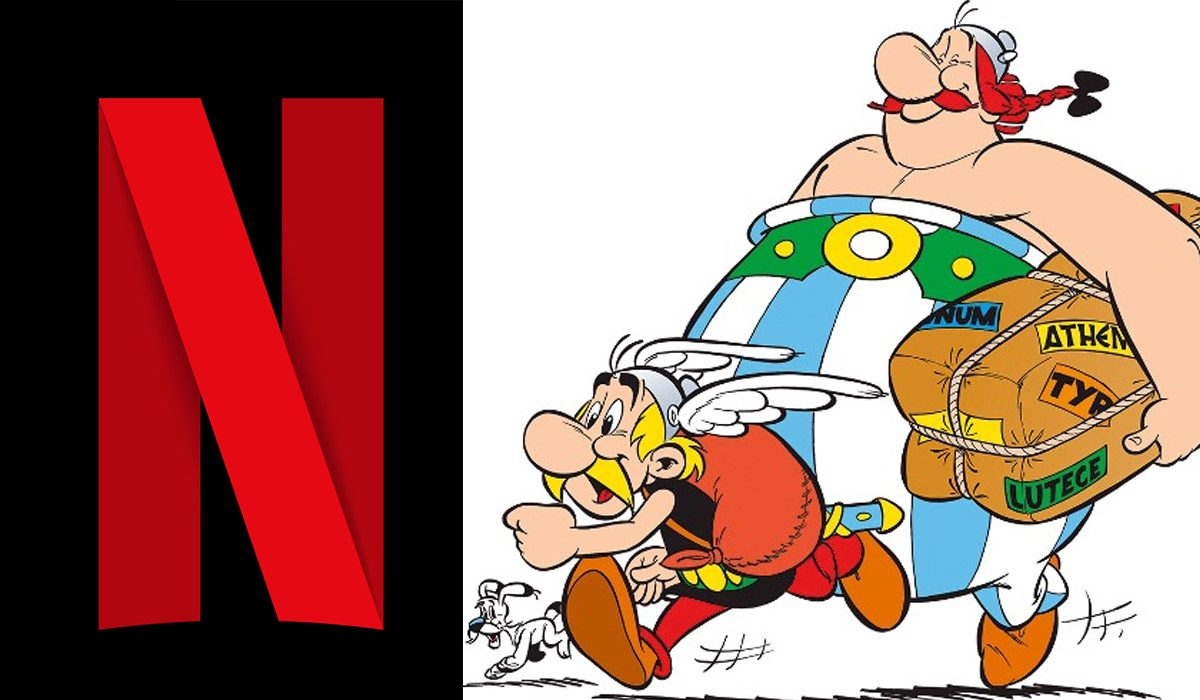 Famous Comic Book Pair Asterix & Obelix Makes Netflix Their New Home