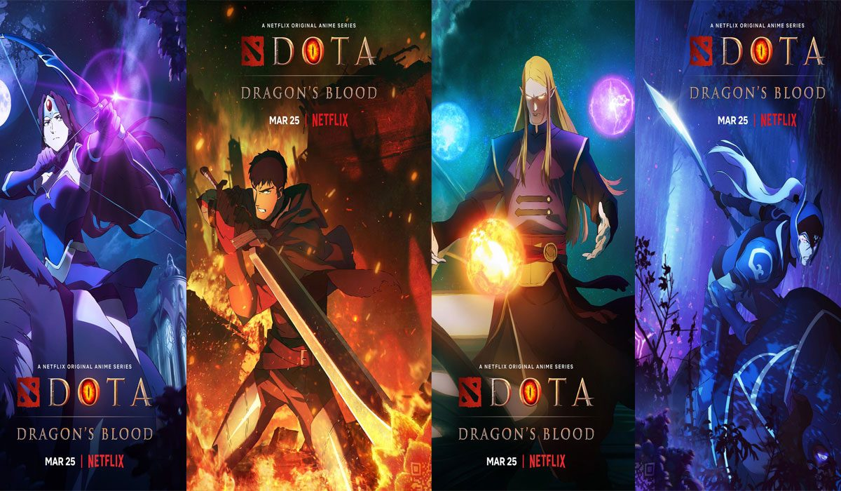 Fan Favourite Characters Join Netflix and Valve DOTA Dragon's Blood!