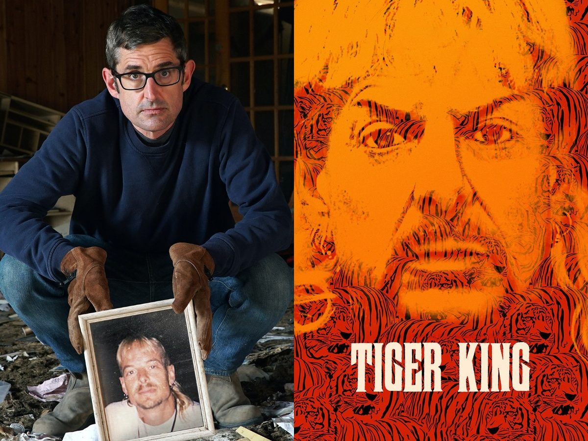 Louis Theroux announces new Tiger King documentary
