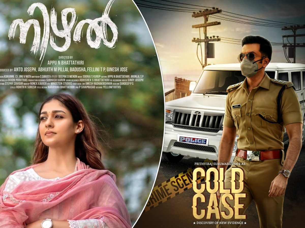 Nayanthara's 'Nizhal' and Prithviraj's 'Cold Case' To Face Off At April BO!
