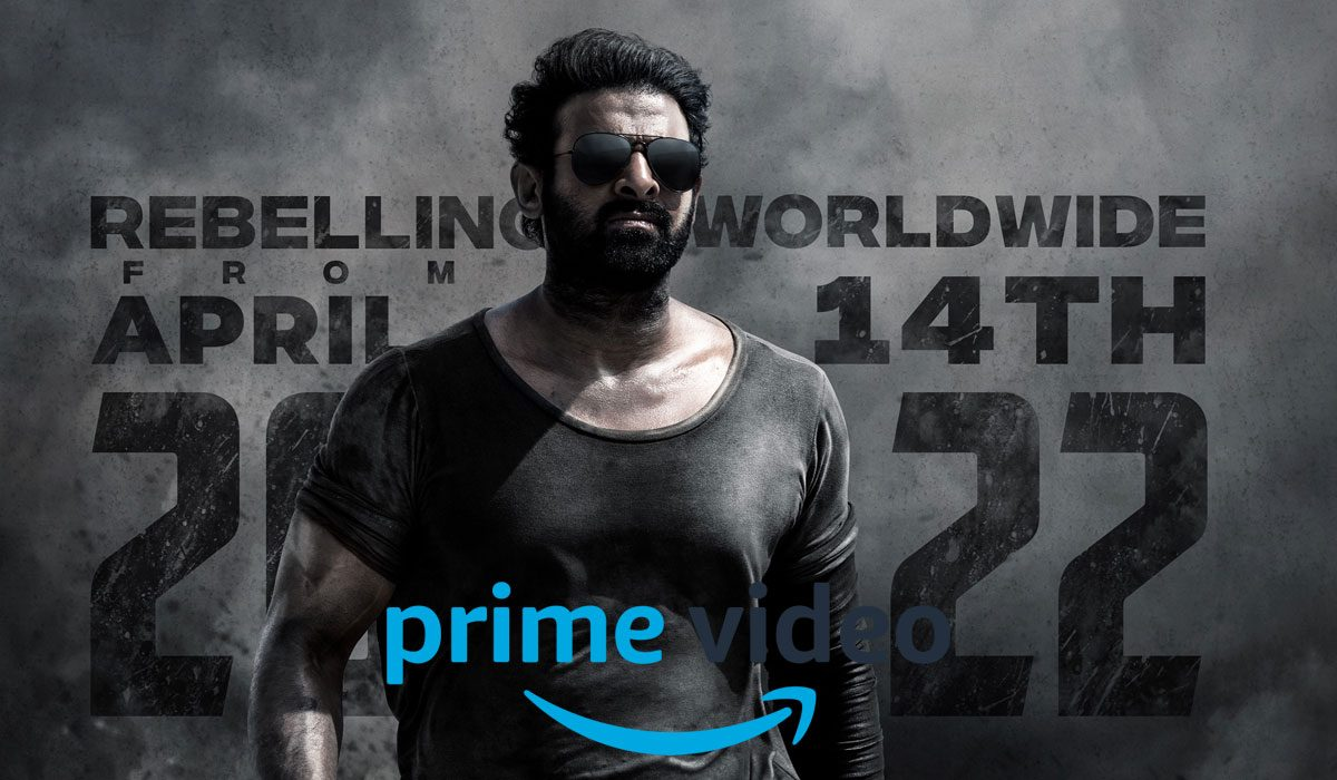 salaar - Amazon -Prime Video