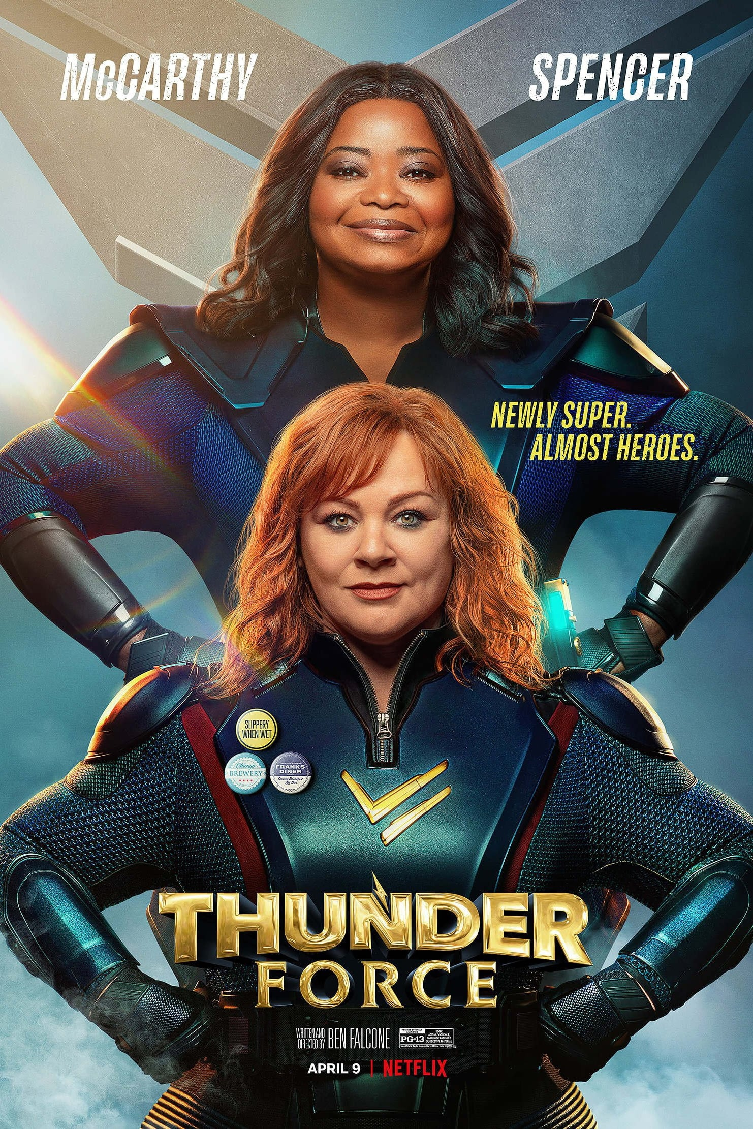 Thunder Force Movie Streaming Online