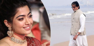 Amitabh Bachchan - Rashmika Mandanna-