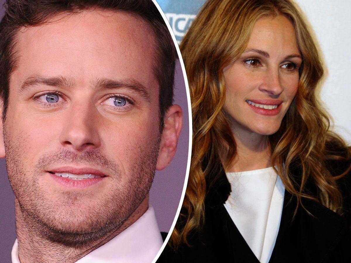 Armie Hammer 'Replaced' in Julia Roberts' Watergate Drama 'Gaslit'