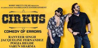 Ranveer Singh, Rohit Shetty's Cirkus Sets Release Date!
