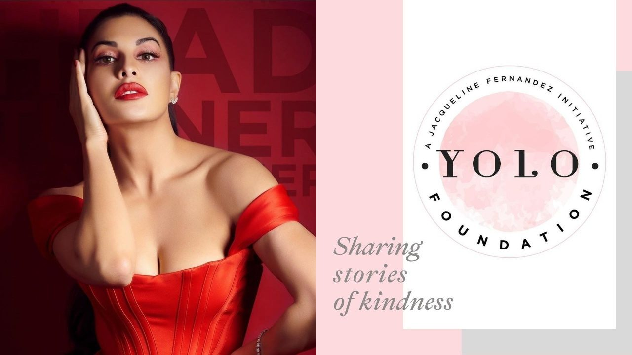 Jacqueline Fernandez Aims For Kindness, Launches YOLO Foundation!
