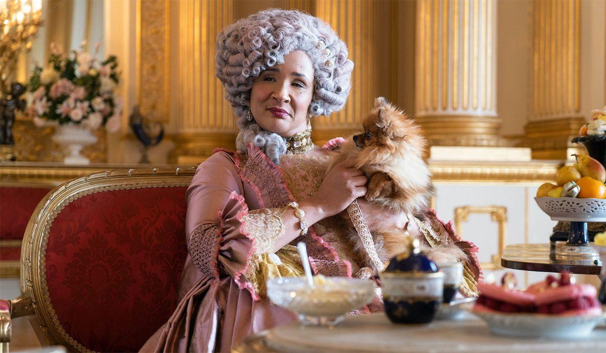 queen charlotte- bridgerton