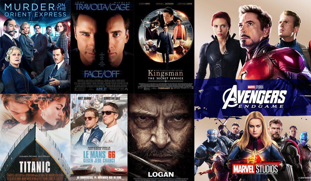 Movies english Top 100
