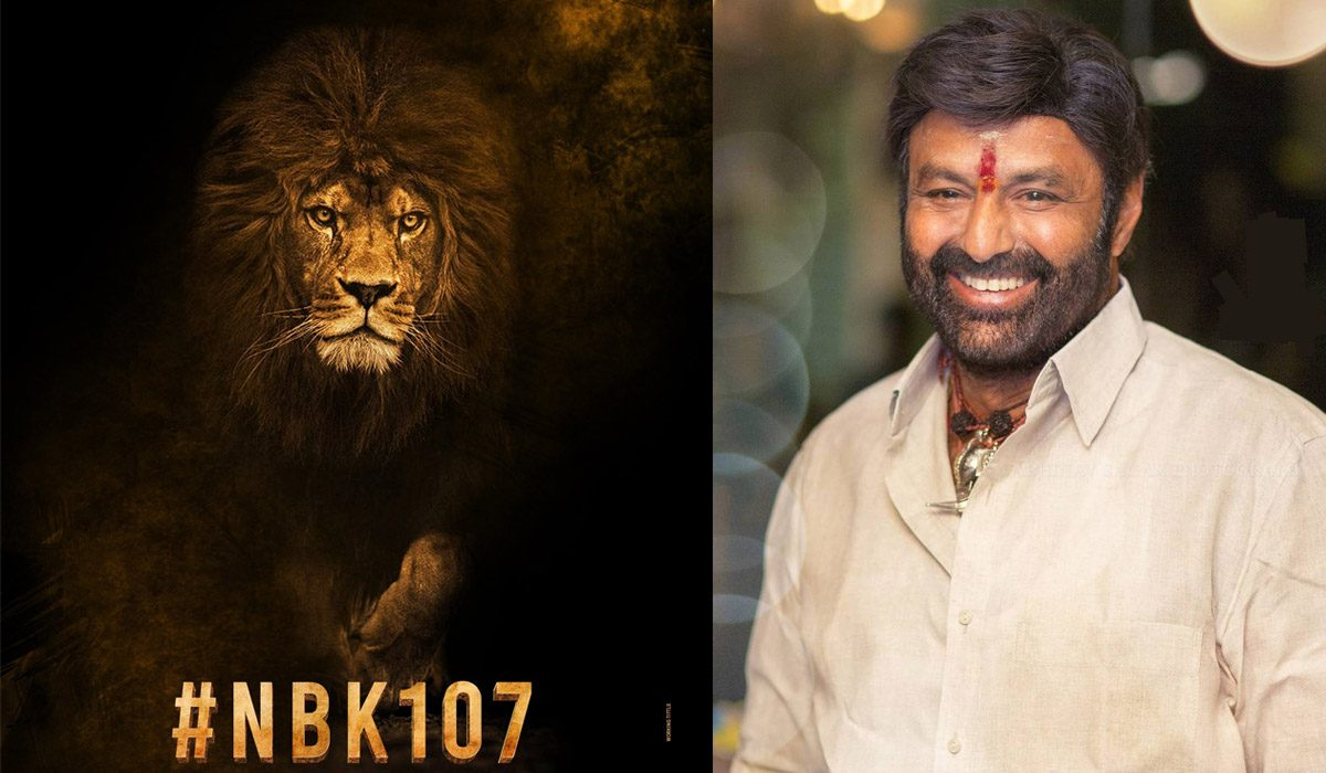Balakrishna Announces A Very Promising Project As Birthday Special