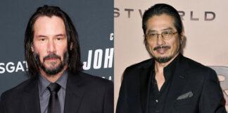 Keanu Reeves John Wick - Hiroyuki Sanada