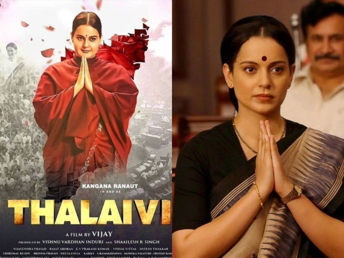 """When And Where To Stream """"Thalaivii"""" On OTT?"""